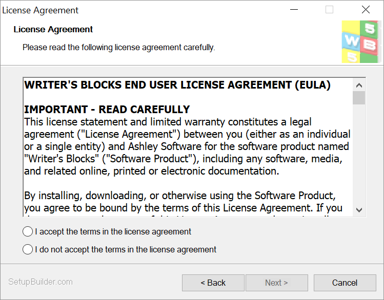 Copyright Ownership and License Agreement