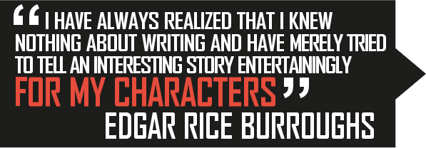 Edgar Rice Burroughs Quote